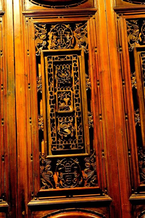【v立体】深圳博物馆立体木雕精品欣赏(组图)(2mc攻略生存馆藏图片