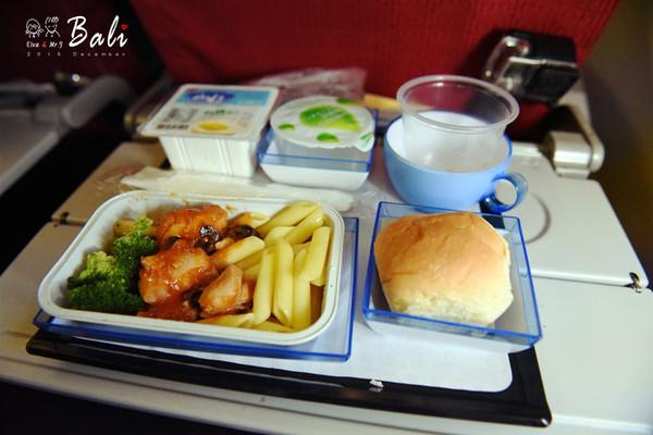香港航空的飞机餐,味道算不错了