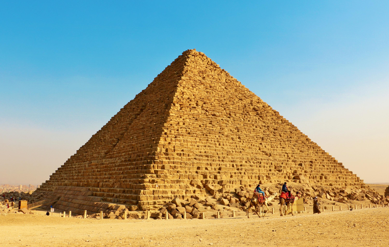 孟卡拉金字塔  Pyramid of Menkaure   -4