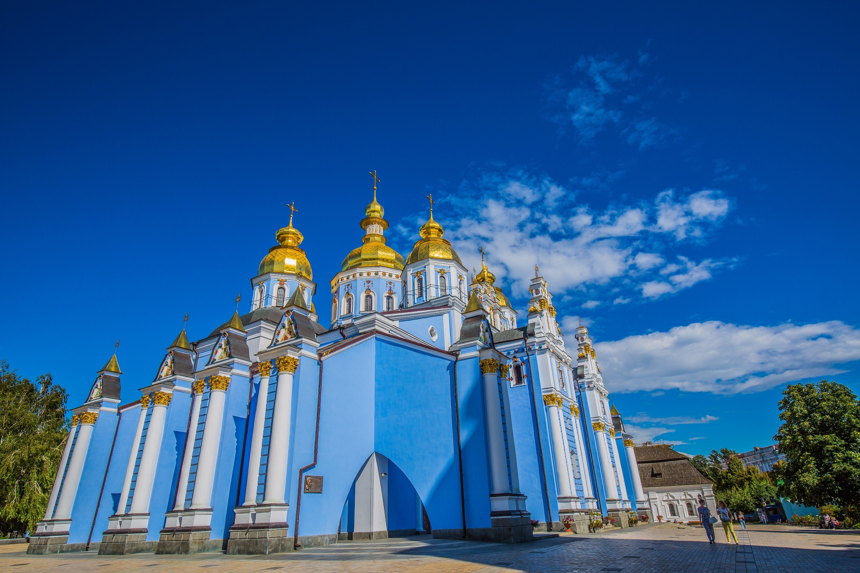 圣米迦勒金顶修道院  St Michael's Gold-Domed Monastery   -2