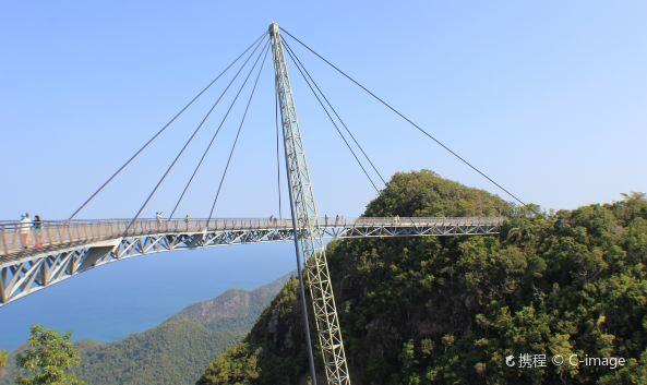 建成于2004年10月,总长125米,桥形呈圆弧状,主体由钢材料构成.