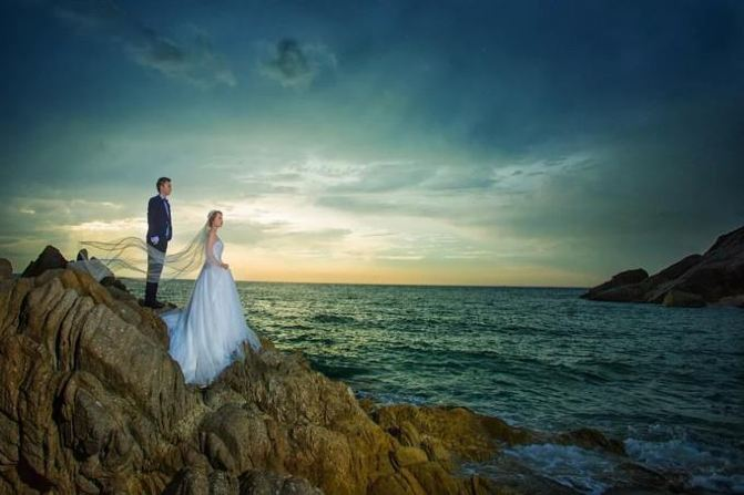 普吉岛婚纱摄影前十名排名,我的蜜月婚纱照游记