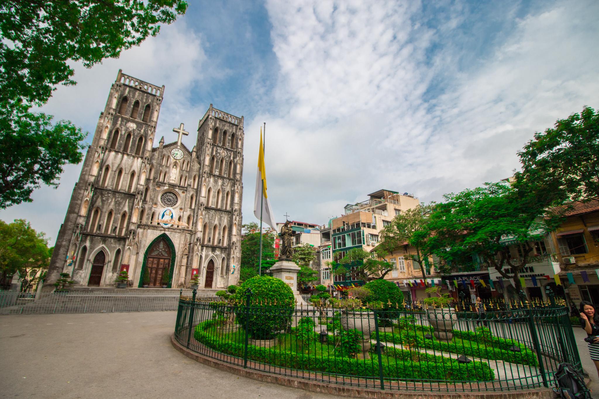 河内大教堂  Saint Joseph Cathedral   -3