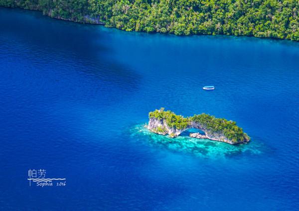 清浅如蓝色水墨画一般的蘑菇岛,只有在这样纯净的地方,才能生出这么美