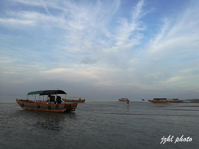 京族三岛是中国大陆与越南交界处的巫头,万尾,山心三个小岛.