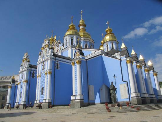 圣米迦勒金顶修道院  St Michael's Gold-Domed Monastery   -4