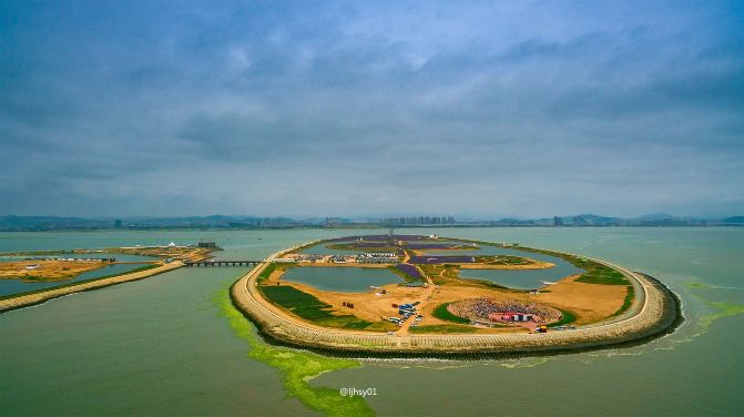 """航拍连理岛,带你从空中窥视海上""""迪拜"""" - 海阳游记"""