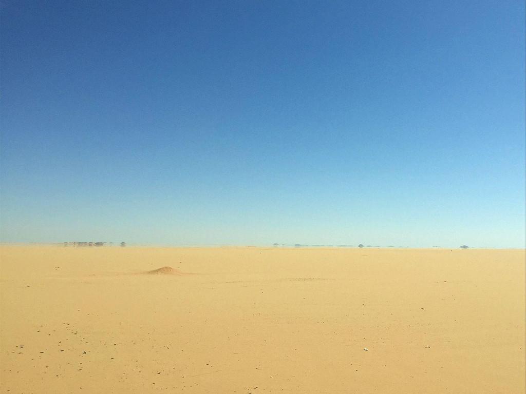 撒哈拉沙漠,海市蜃楼