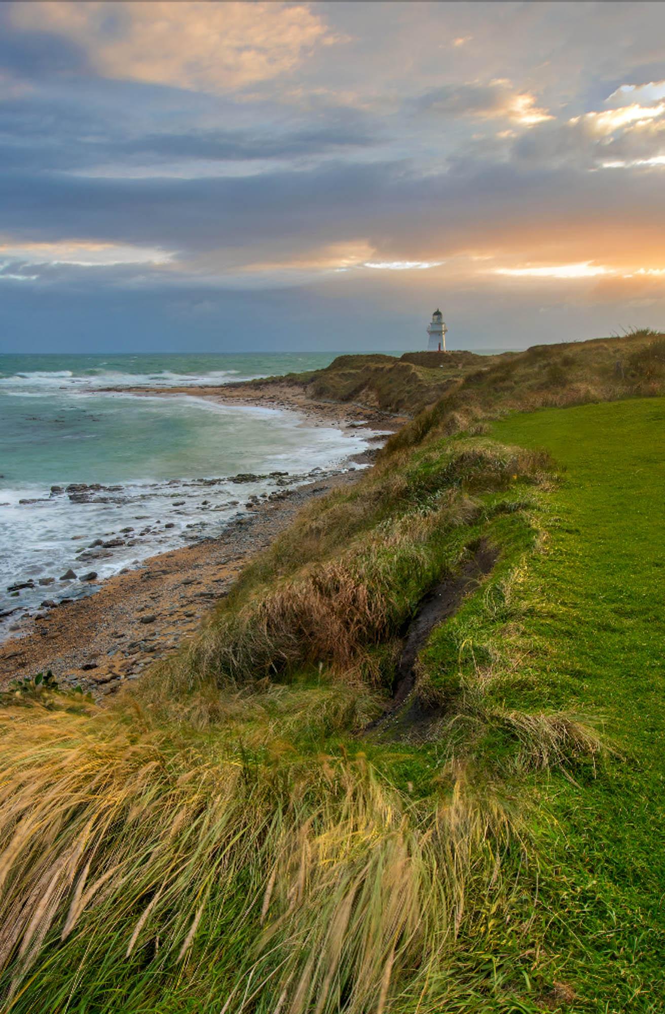Waipapa Point Lighthouse  Waipapa Point Lighthouse   -0