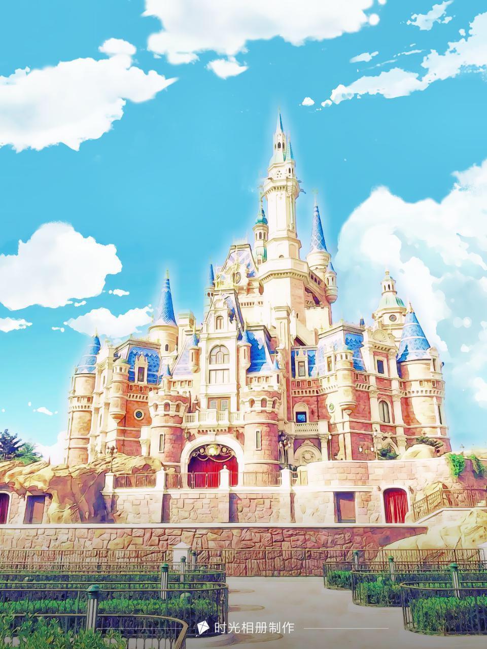 迪士尼的梦幻城堡