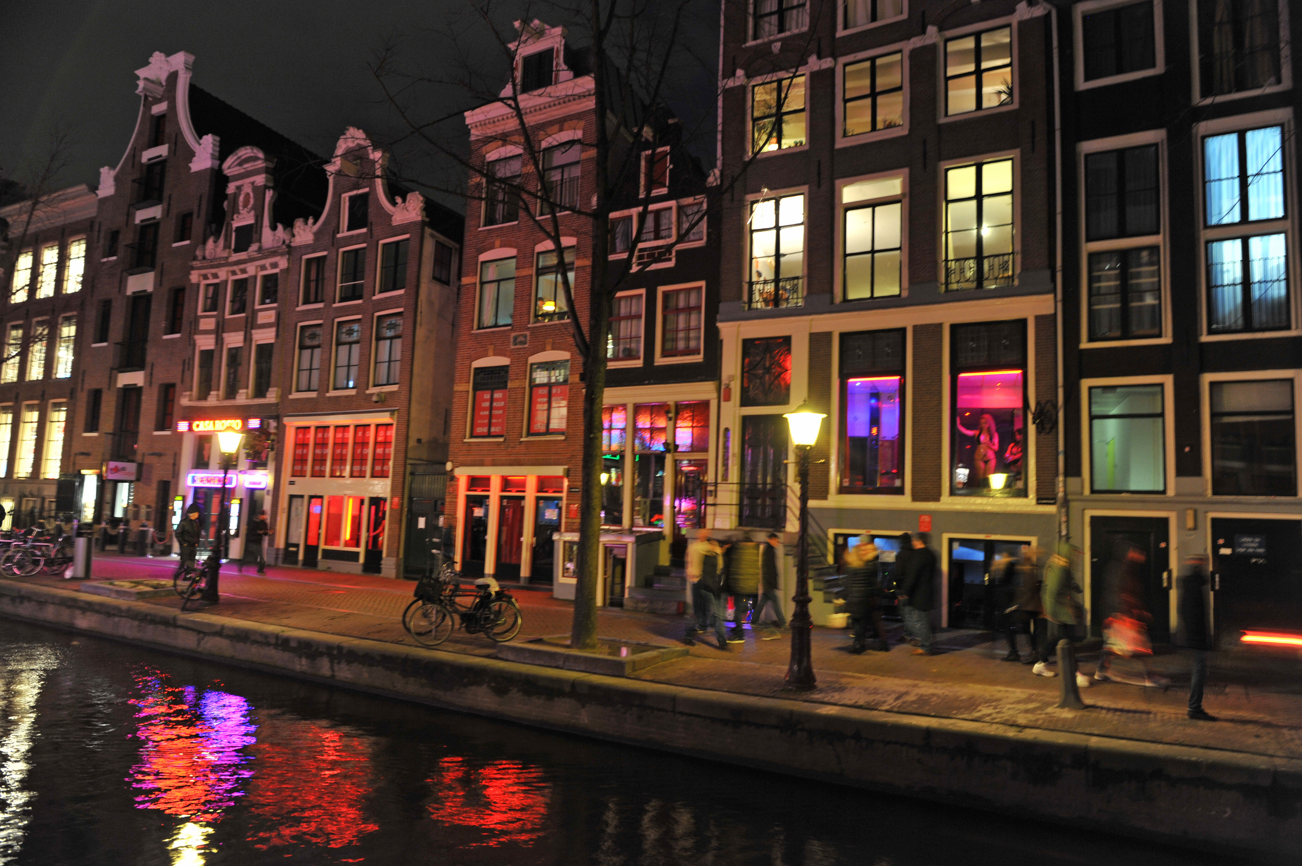 阿姆斯特丹红灯区  Red Light District   -0