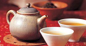 品茶/喝茶