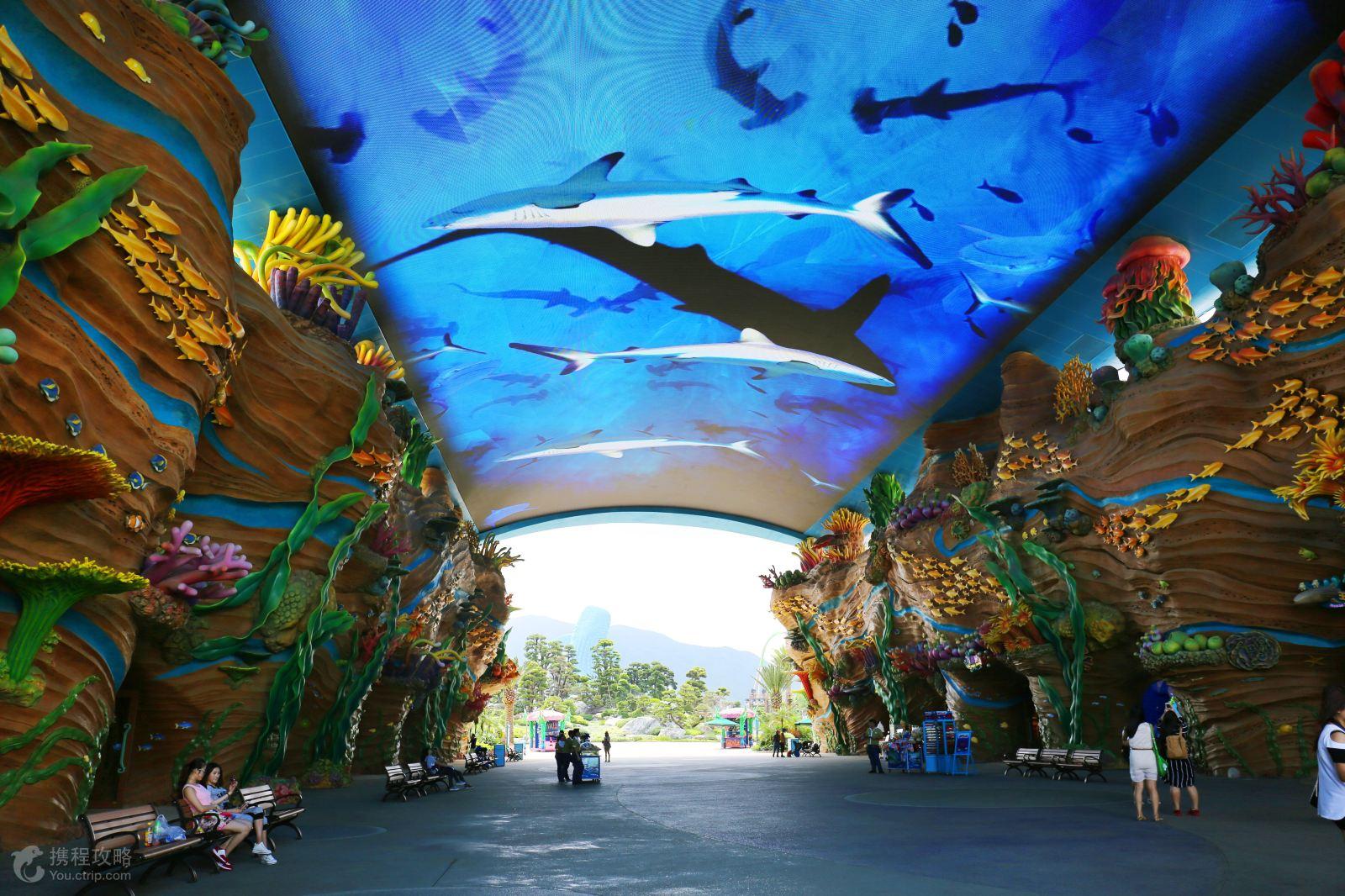 采用世界公司的设计,吸取全球主题公园的精华,运用高科技和长隆特有的图片