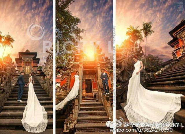 巴厘岛 ricky l 海外婚纱摄影影楼