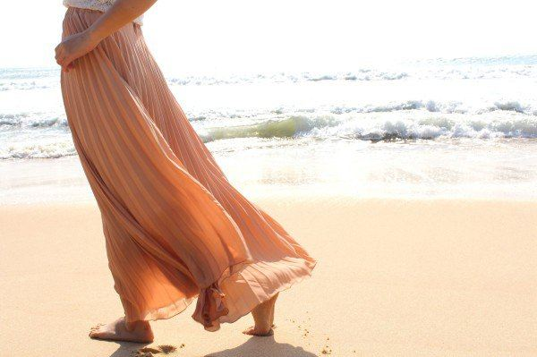 大丝巾怎么系成裙子图解