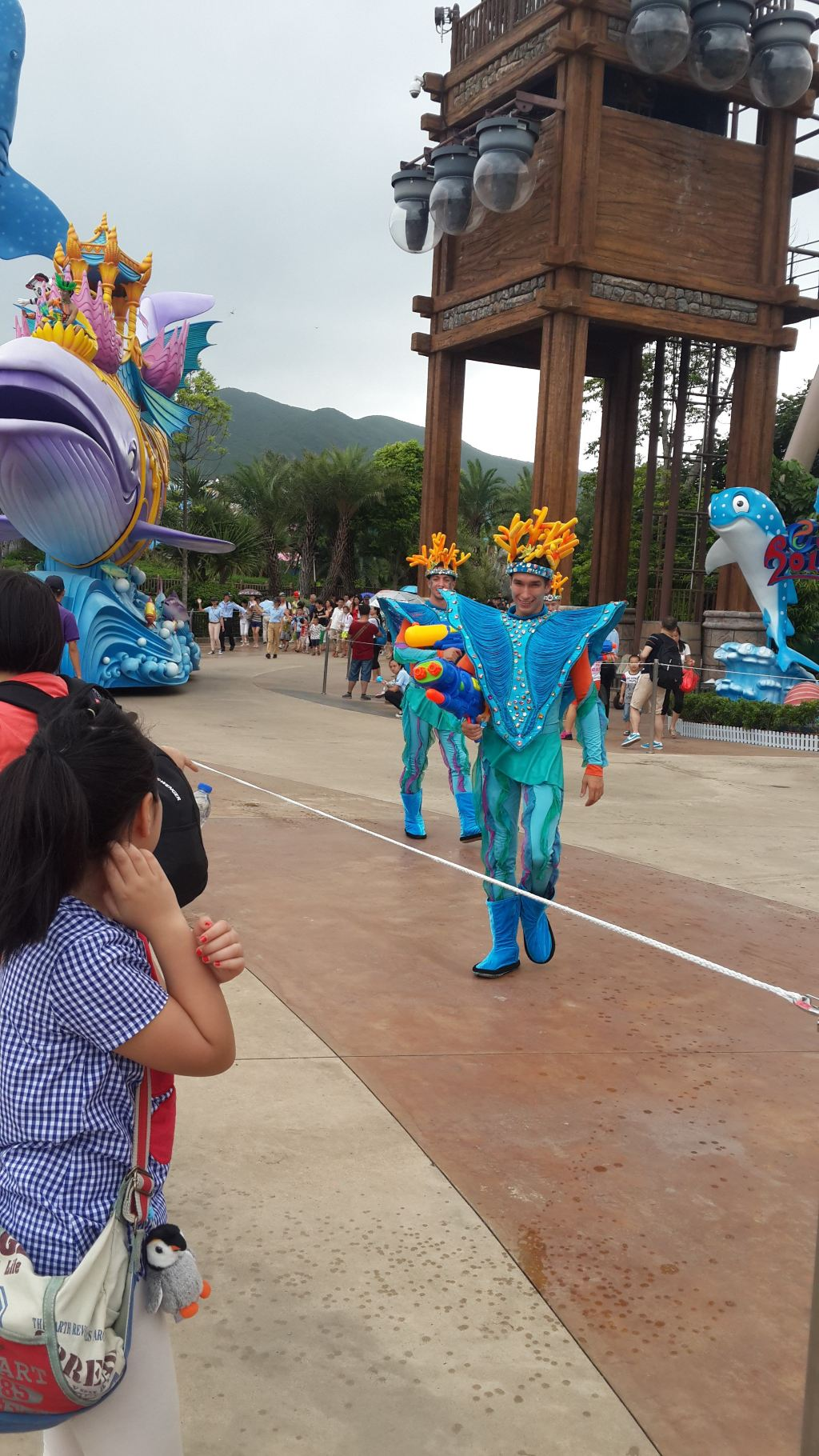畅游长隆野生动物园和海洋王国,五日自由行(有细节描写)