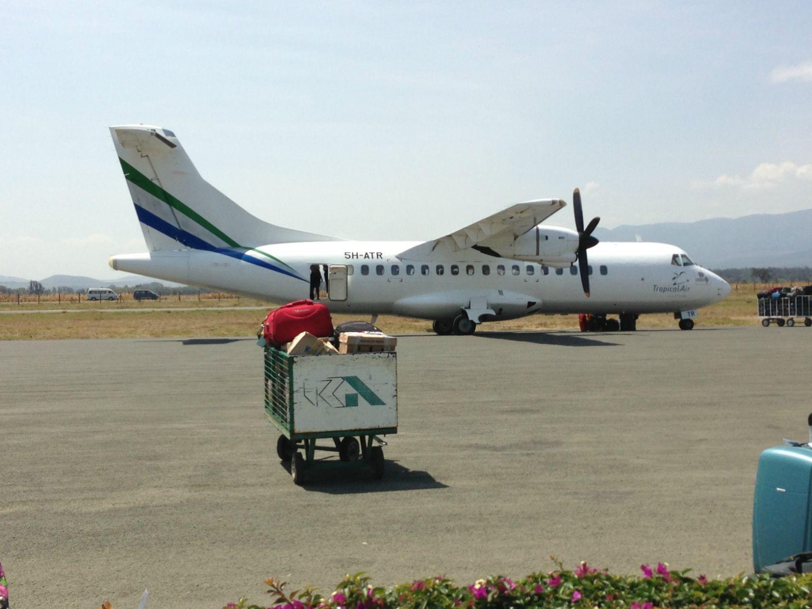 这是我们17人做的飞机,好像可以坐40-50人,有一位空姐服务,不过只提供
