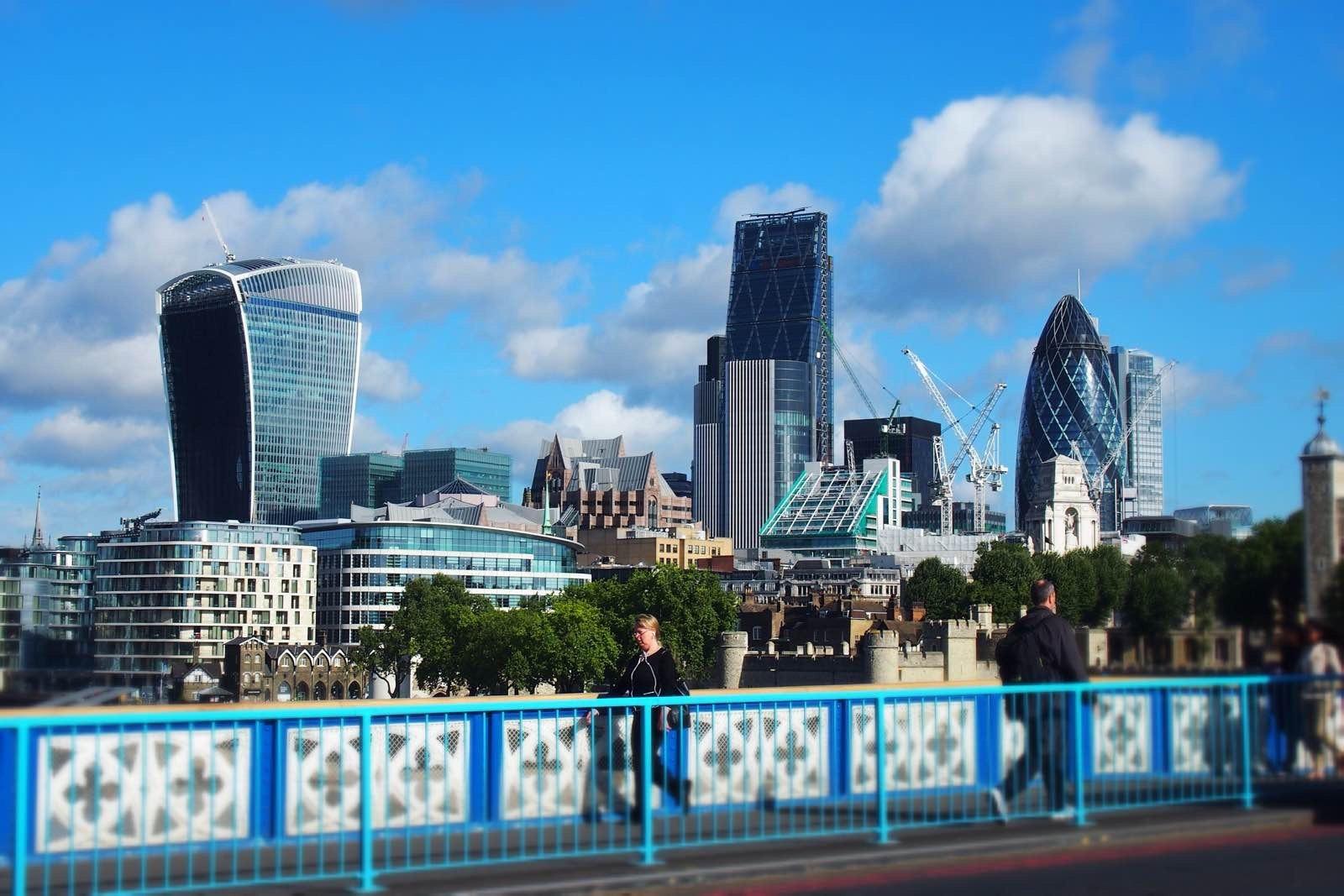 伦敦塔桥 这一上午的旅行不会太累