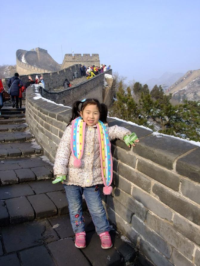 带着4岁半女儿登彩虹北京游北京城-长城梦幻争霸赛泰山攻略游记图片