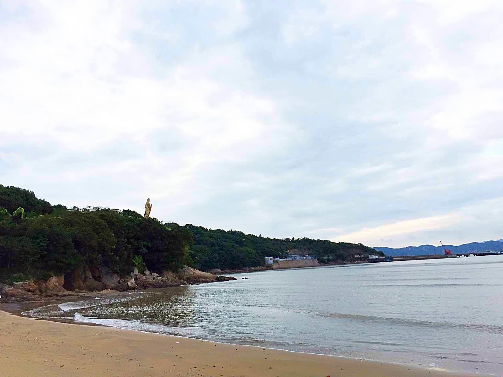 普陀山 游記/清晨的海边客栈