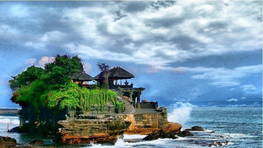 巴厘岛5日4晚跟团游·南湾+玻璃底船+海龟岛+海神庙