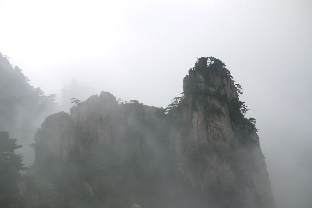 黄山风景区 黄山西海饭店