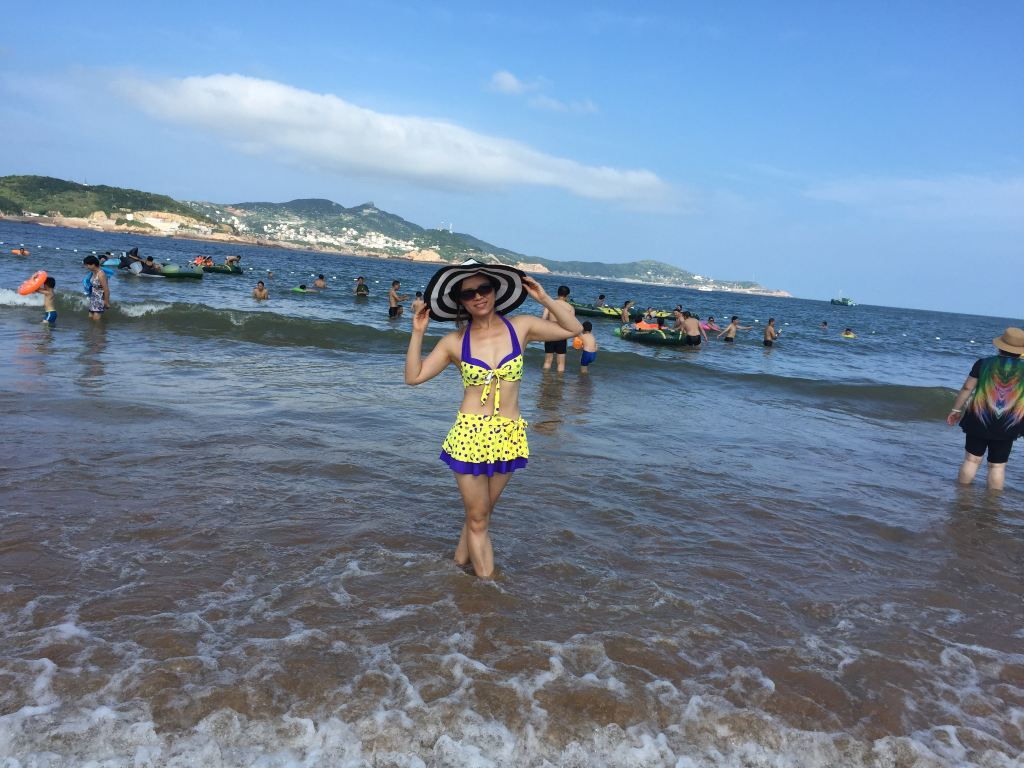 枸杞岛----那一片蓝天白云大海