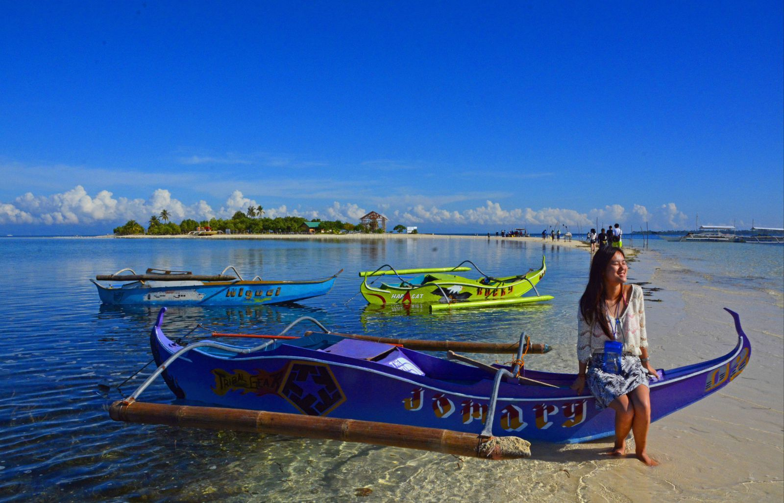 菲律宾薄荷岛上有一个美丽的无人小岛——处女岛