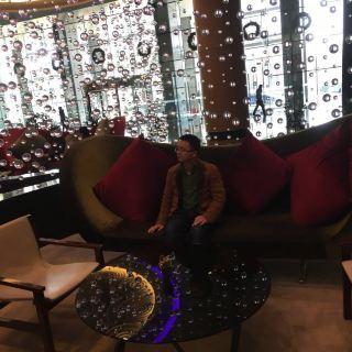 青岛海尔洲际酒店大堂酒廊