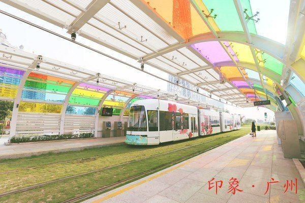 广州塔电车景点