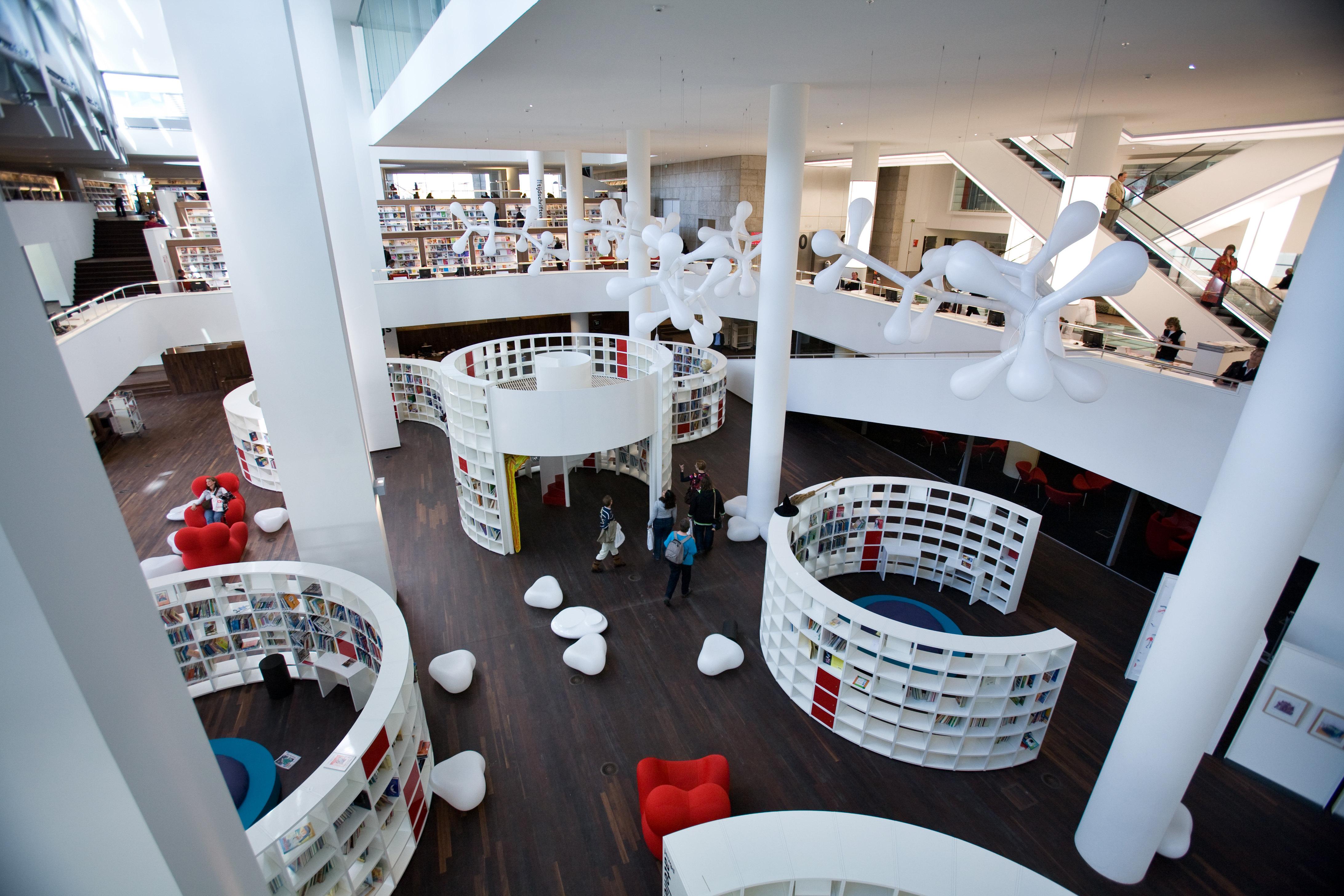 阿姆斯特丹中央图书馆  Central Library   -0
