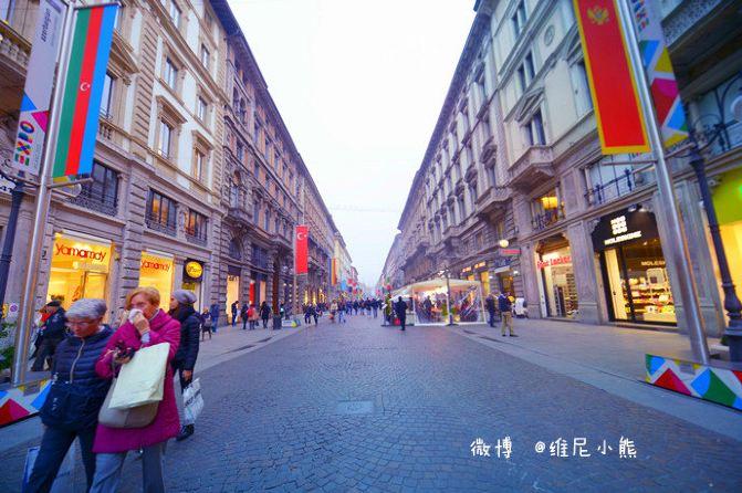 行走在意大利,醉情在米兰(图) - 维尼小熊 - 维尼小熊旅行美食记