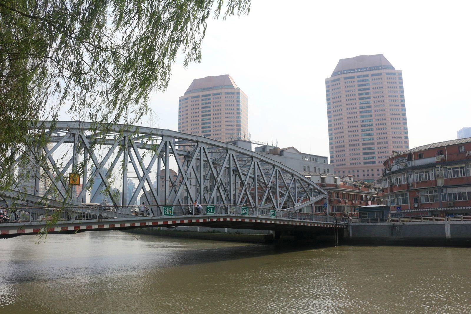 上海母亲河—漫步苏州河12公里记