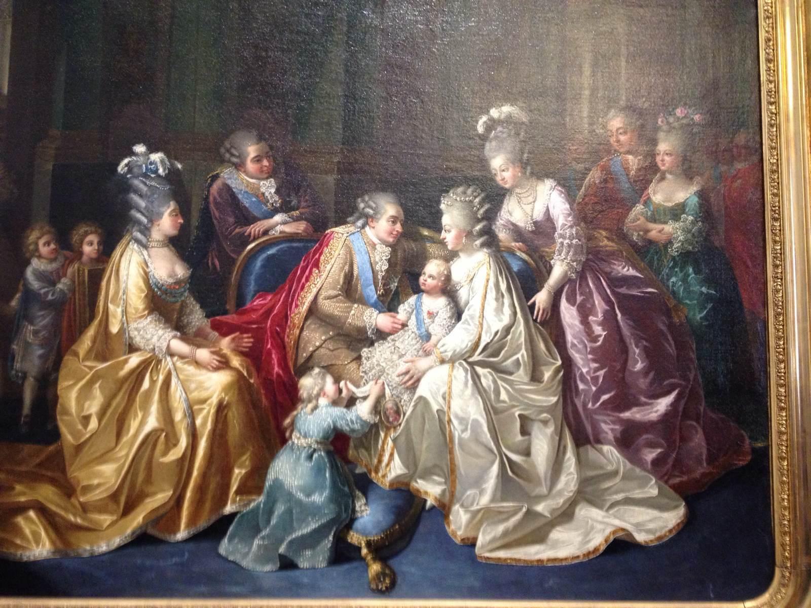 可怜的路易十六一家.都死于后来的大革命.