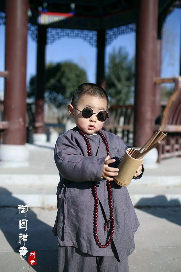 【御园禅意】- 萌萌哒小和尚禅游磁县古御园!