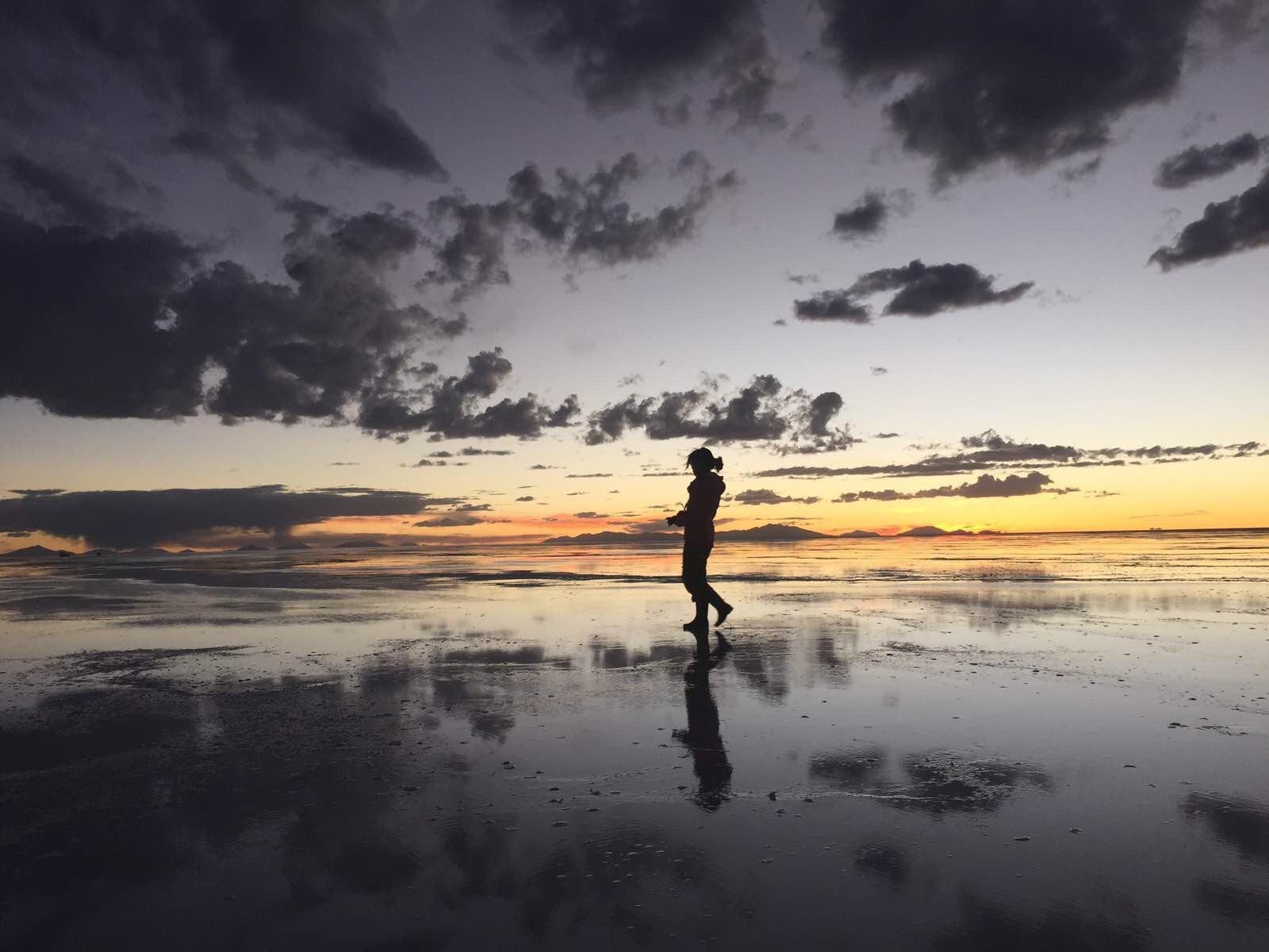 拥抱天空之城和天空之镜