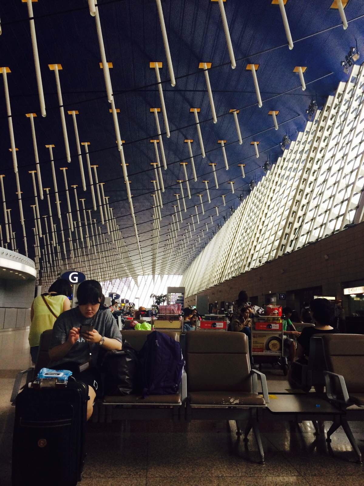 巴厘岛机场夜景