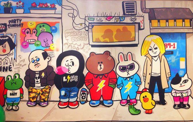 新天地line friends cafe&store(一)