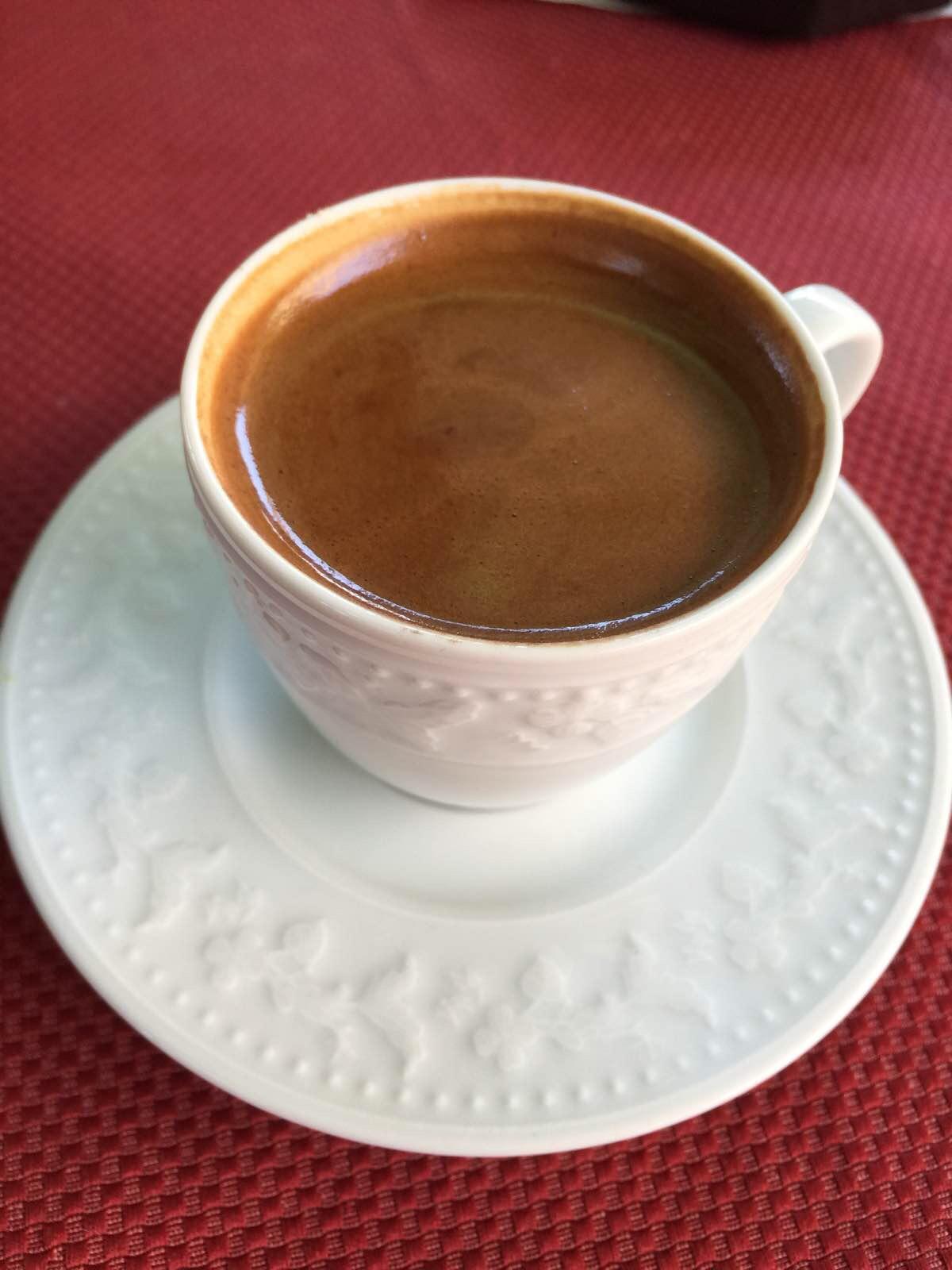 游記/土耳其咖啡,一半咖啡一半渣,香醇不酸伊兹密尔