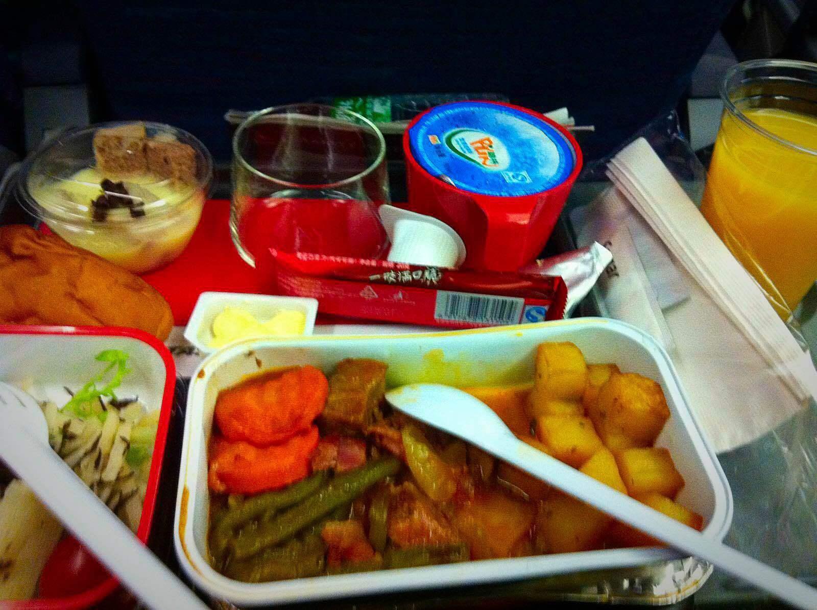 澳航的飞机餐