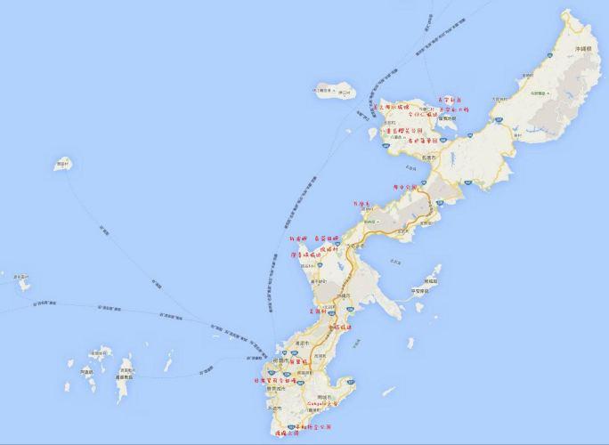 占用的土地达冲绳岛面积的20%
