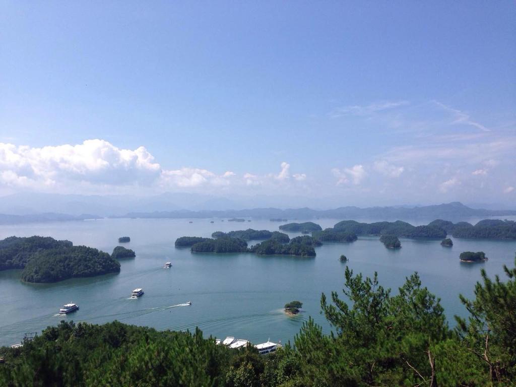 千岛湖梅峰岛