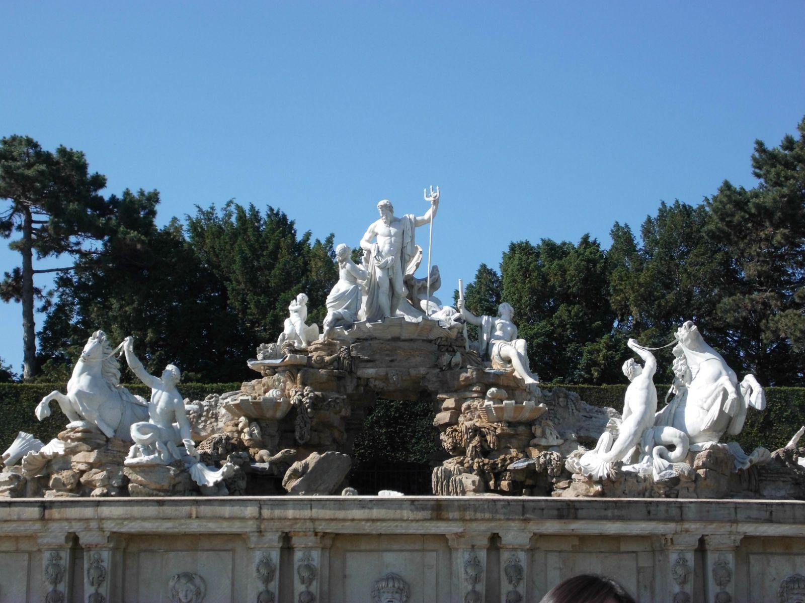 海神波塞冬雕像,取自于希腊神话