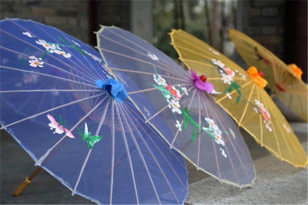 海底世界雨伞画画步骤