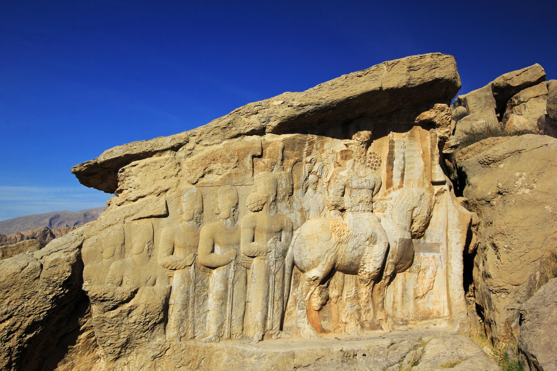 波斯帝陵和薩珊浮雕  Naqsh-e Rostam   -4