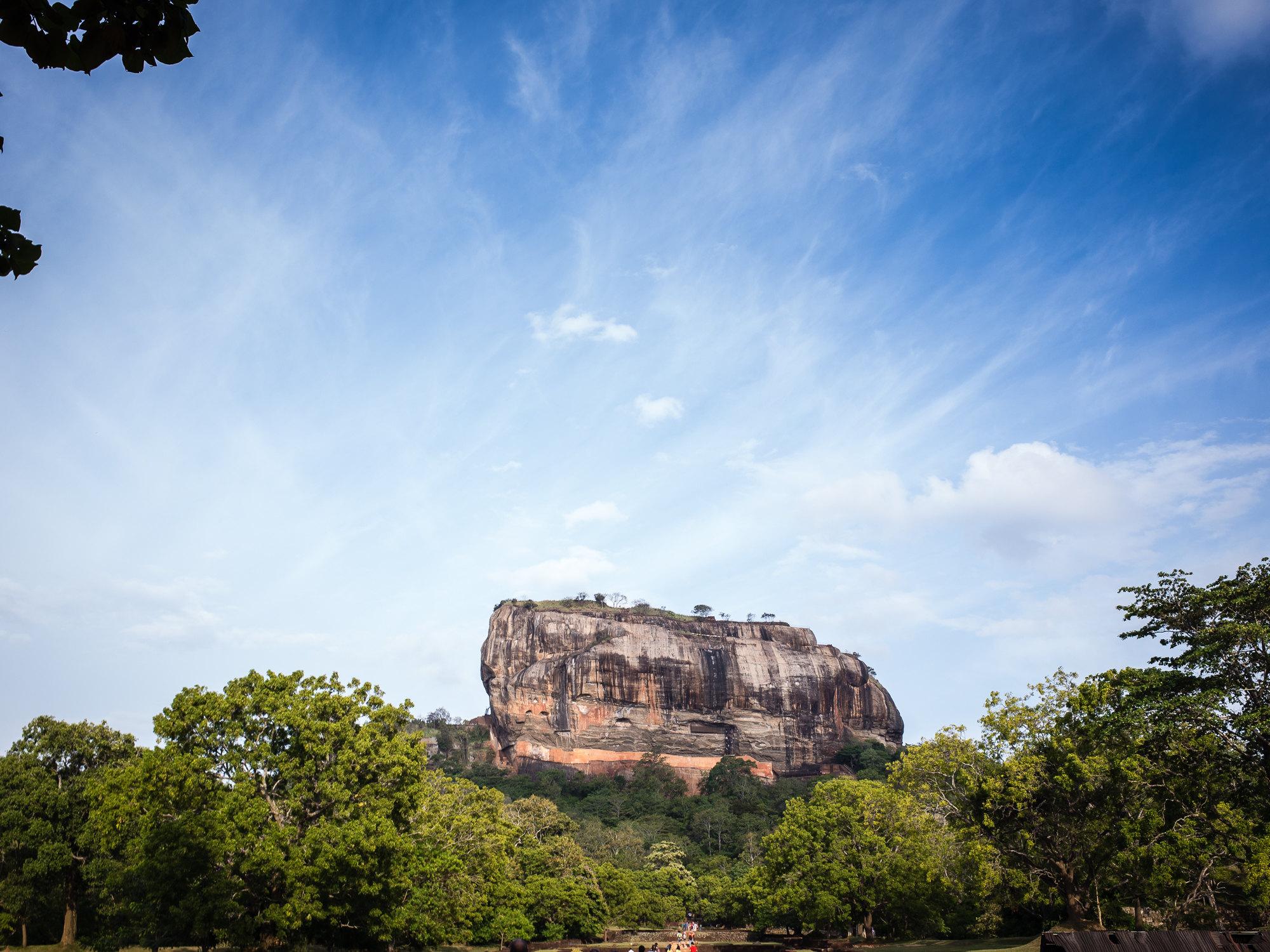 狮子岩  Sigiriya Lion Rock   -0