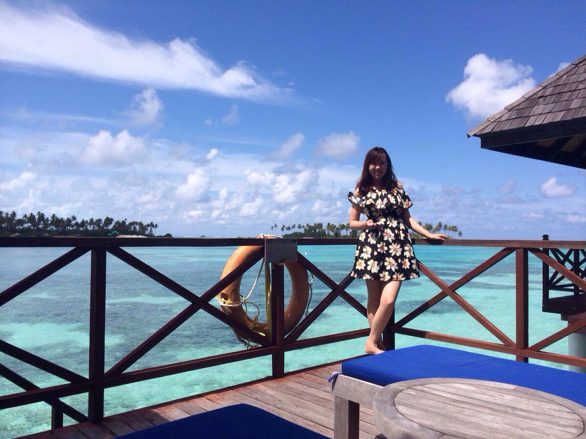 马尔代夫双鱼岛--迟到的蜜月