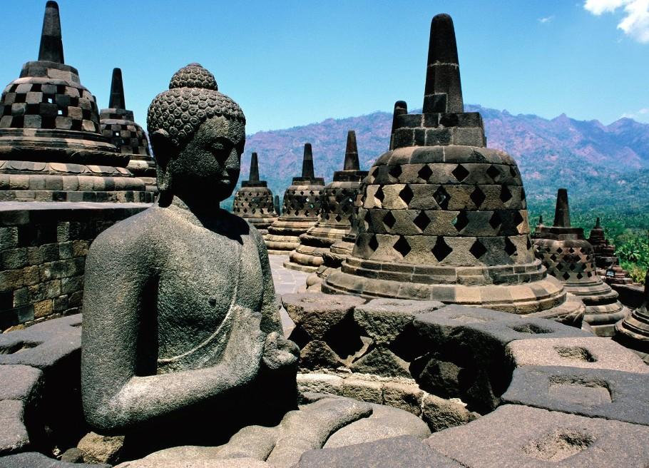 盘点日惹六大最具古印度文明代表性的景点!图片