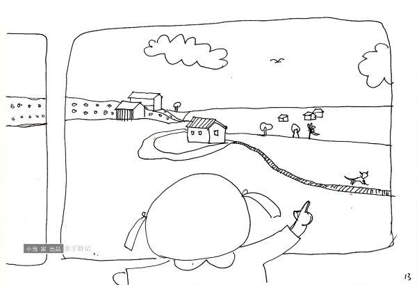 手绘旅游路手绘
