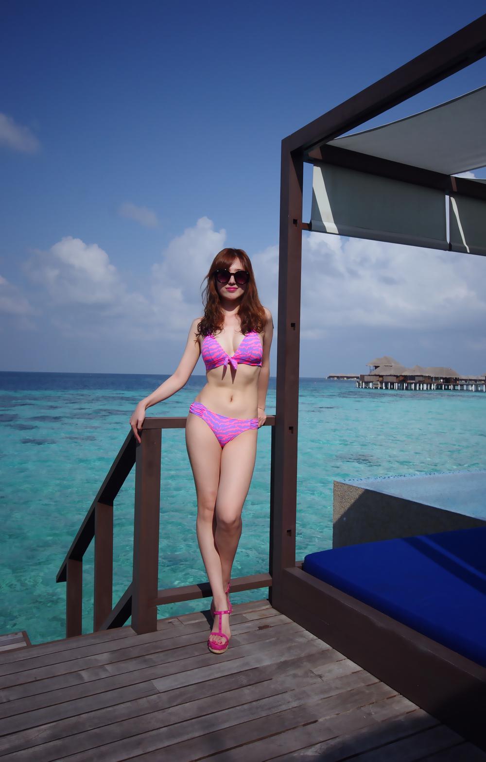 马尔代夫双岛游cocobh+jv岛百张美图比基尼大放送!